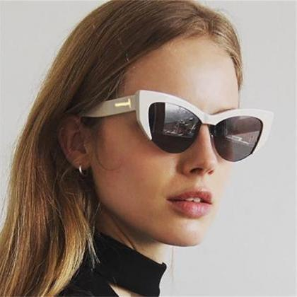 Sunglasses Woman T Brand Retro Shad..