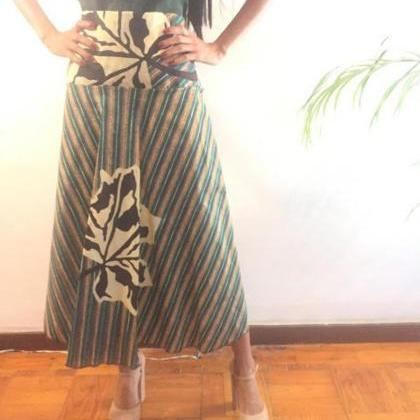 Ngozi - Ready to ship -Size L Green..