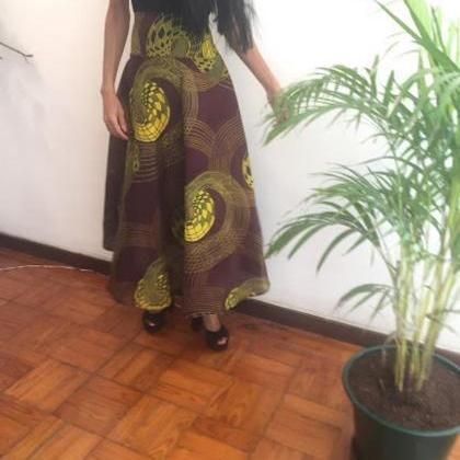 Nigeria - Skirt Ankle lenght Pollyb..