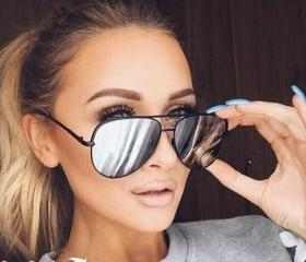 Aviator Sunglasses W..