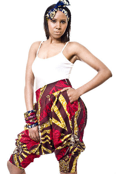 Zimbabwe - Gorgeous costumisable dashiki african shorts