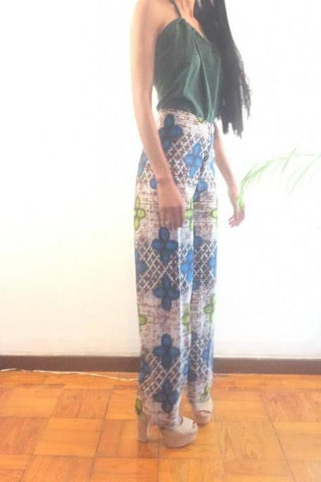 dashiki african abstract print designer pants Worldwide free shipping