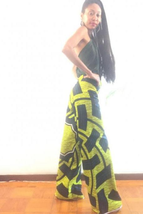 Geometric Cotton dashiki african abstract print designer pants Worldwide free shipping