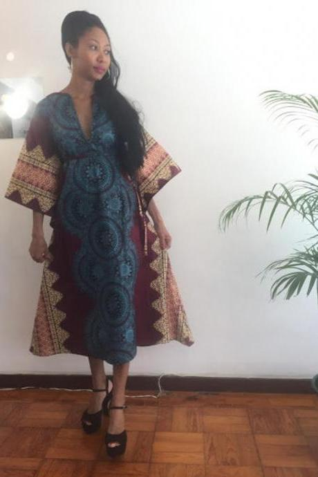 Abéché- Gorgeous costumisable dashiki african dress