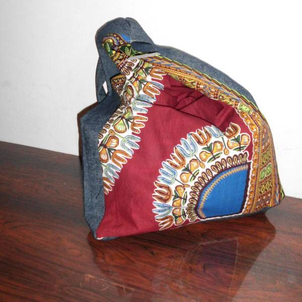 5 Worldwide Free Shipping handmade dashiki bag